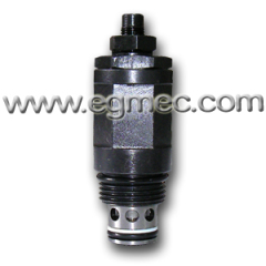 Cartridge Type Six Pressure Pre-setting M24x1.5 Threaded Valve