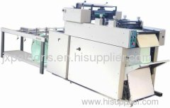 Confidential envelope gluing & continuous machines