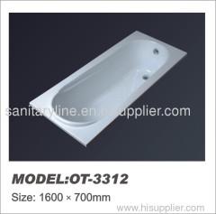 common acrylic bathtub