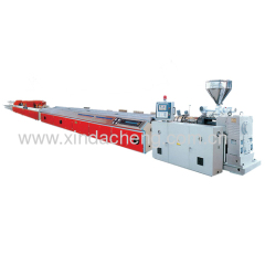 PVC profile machine