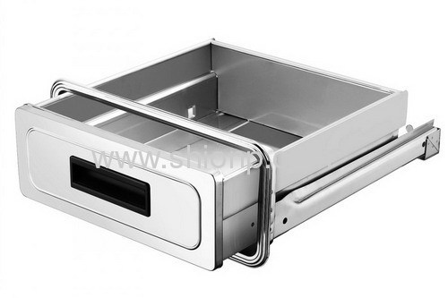 Kitchen drawer for cabinet from china manufacturer for Stainless steel drawers kitchen
