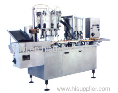DGZ8 Model oral liquid washing, drying, filling and cap-clamping linkage