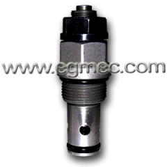 M24X1.5 Threaded 80L/min. Flow Rate Cartridge Type High Pressure Control Valve
