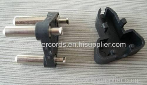India 3 pins plug socket with 6amp