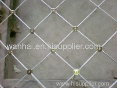 High Energy Absorption (HEA) steel rope grid