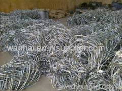 knoted steel rope panel for slope reinforcement