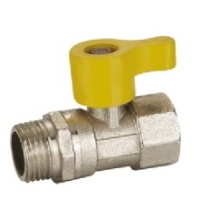 Female x male gas ball valves
