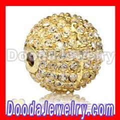 pave crystal ball beads