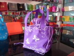 Various beauty fabric bags