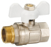 Female x male ball valves