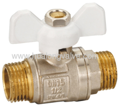 Male x Male ball valves