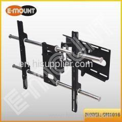 TV swivel wall mounts with tilt view