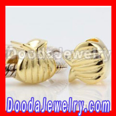 gold plated silver beads wholesale