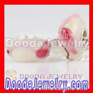Discount Chamilia glass bead in 925 sterling silver core sale