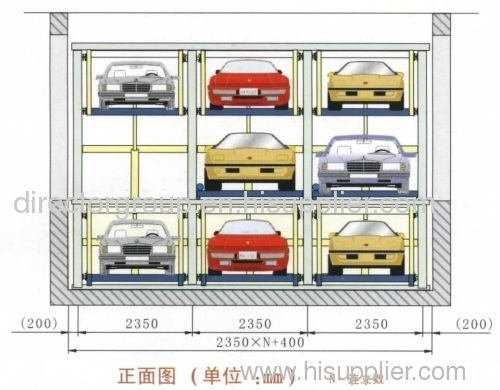 automatic puzzle parking system parking lift