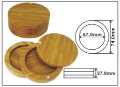 eyeshadow box bamboo case