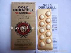 Gold Duracell