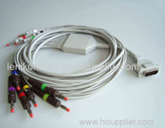 HP ecg cable