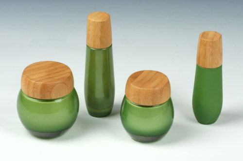 Bamboo Cap Glass Jar And Bottle Products China Products