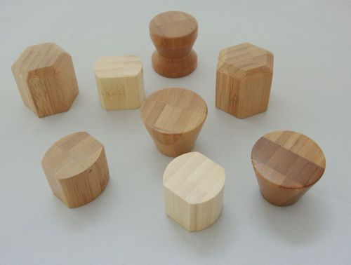 wood solid color bamboo perfume cap perfume package cosmetic container natural package