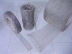 Fine knitted wire mesh