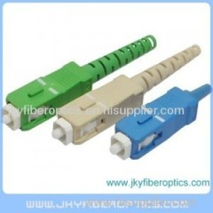 Optical fiber SC connector