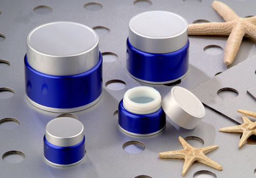 High-grade Anodized Aluminum container cream jar Hot sale