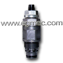 Cartridge Type Hydraulic Pressure Relief Carbon Steel Valve