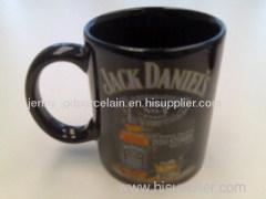 11oz decal glazed ceramic mug