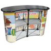 pop up counter,pop up table,pop up desk,tradeshow promotional counter display