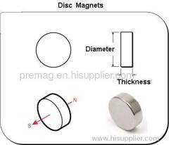 Neodymiu Disc Magnets