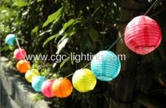 Plastic Solar Lantern Light