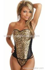 Steel Boned Strapless Corset