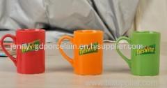 9oz ceramic decal mug
