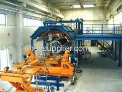 GRP Continuous Winding Pipe Production Line
