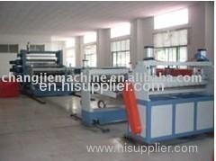 PE board production line