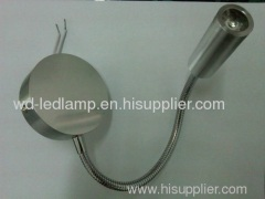 3W led flexible pipe spotlight