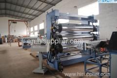 PE plate production line