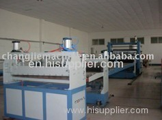 PP plate production line