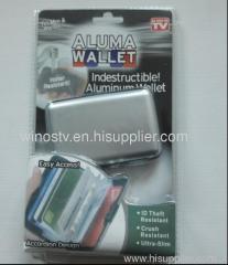 aluma wallet keep money