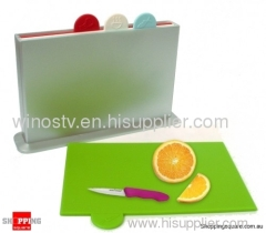4pcs Index Chopping Board
