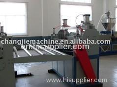 PVC plate production line