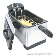 Detachable Stainless Steel Deep Fryer XJ-09135