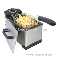 Detachable Stainless Steel Deep Fryer XJ-09125
