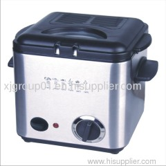 Stainless steel Deep Fryer XJ-5K100DO(0.9L)