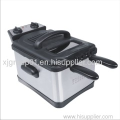 Detachable Stainless Steel Deep Fryer XJ-7K120