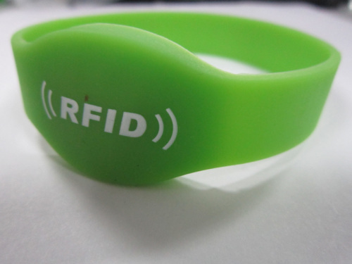 rfid wristband with Chip TK4100/T5577