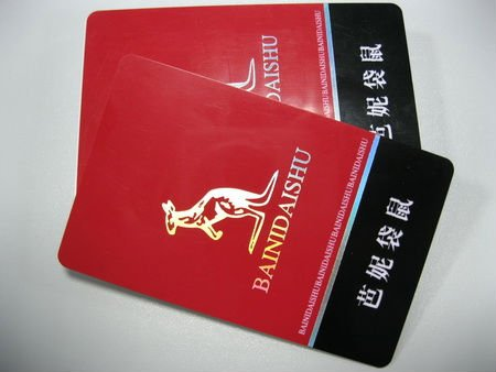 ISO CR80 PVC VIP Card