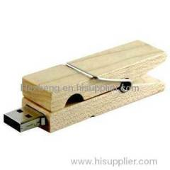 Folder usb flash disk wooden usb flash drive