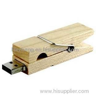 Folder usb flash disk wooden usb flash drive